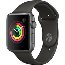 Apple Watch 3 GPS 38mm Space Gray Aluminum Case With Gray Sport Band